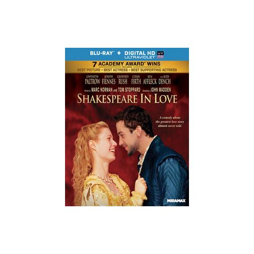 SHAKESPEARE IN LOVE (BLU RAY)(WS/ENG/ENG SUB/SP SUB/ENG SDH/5.1 DTS-HD/UV D 31398147657