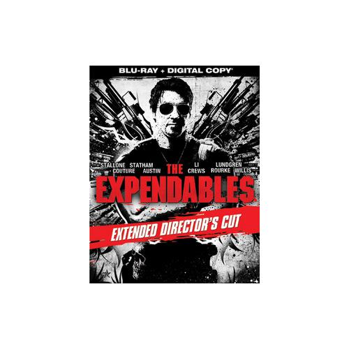 EXPENDABLES (EXTENDED DIRECTORS CUT) (BLU RAY W/DIGITAL COPY) 31398147961