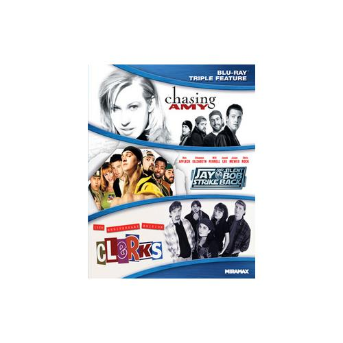 KEVIN SMITH TRIPLE FEATURE (BLU RAY)(CHASING AMY/CLERKS-15TH/JAY & SILENT B 31398151135