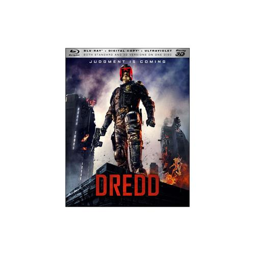 DREDD (BLU RAY/3D/DIGITAL COPY) 3-D 31398163763