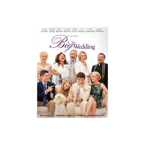 BIG WEDDING (BLU RAY) 31398173373