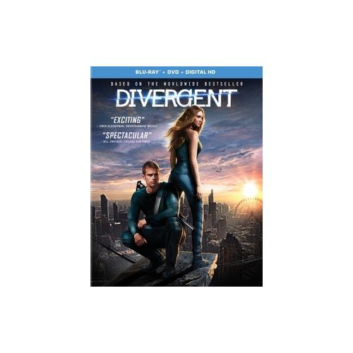 DIVERGENT (BLU RAY/DVD) (WS/ENG/ENG SUB/SPAN/SPAN SUB/ENG SDH/5.1 DOL DIG) 31398198727