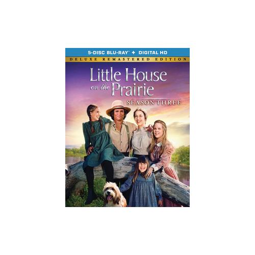 LITTLE HOUSE ON THE PRAIRIE SEASON 3 COLLECT EDIT(BLU RAY W/DIG HD/FF/2.0DT 31398202486
