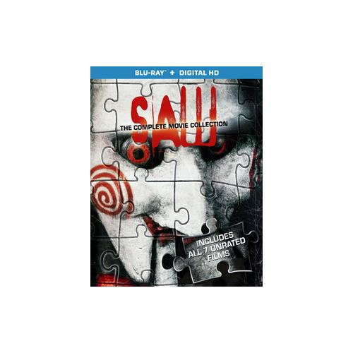 SAW-COMPLETE MOVIE COLLECTION (BLU RAY W/DIGITAL HD) (WS/ENG/ENG SUB/5.1DTS 31398206323