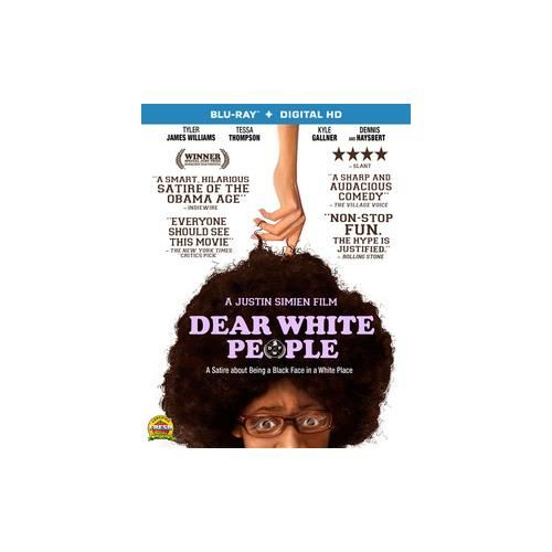 DEAR WHITE PEOPLE (BLU RAY) (WS/ENG/ENG SUB/SPAN SUB/5.1 DTS-HD) 31398209577