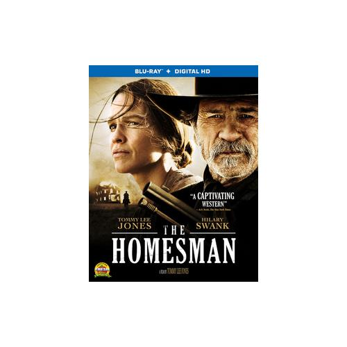 HOMESMAN (BLU RAY W/DIGITAL HD) (WS/ENG/ENG SDH/5.1DTS-HD) 31398212034