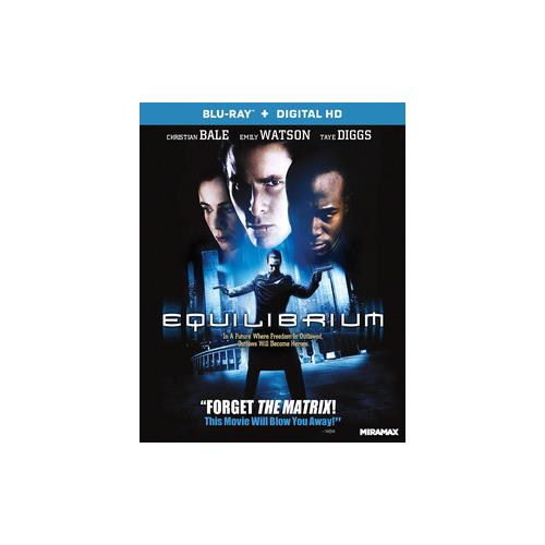 EQUILIBRIUM (BLU RAY W/DIGITAL) (WS/ENG/ENG SDH/5.1 DTS-HD) 31398215219