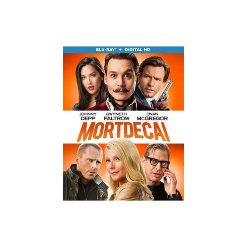 MORTDECAI (BLU RAY W/DIGITAL HD) (WS/ENG/ENG SUB/SPAN SUB/7.1DTS-HD) 31398217442