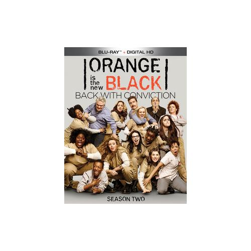 ORANGE IS THE NEW BLACK SEASON 2 (BLU RAY W/DIGITAL HD) 31398220367
