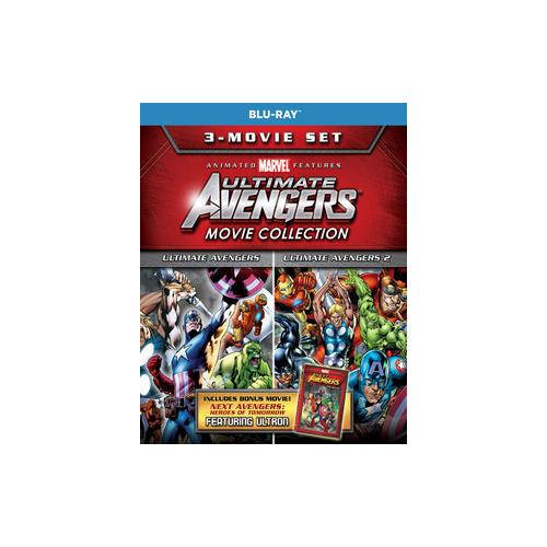 ULTIMATE AVENGERS COLLECTION (BLU-RAY/2-DISC/3 MOVIES/REPACKAGE) 31398220633