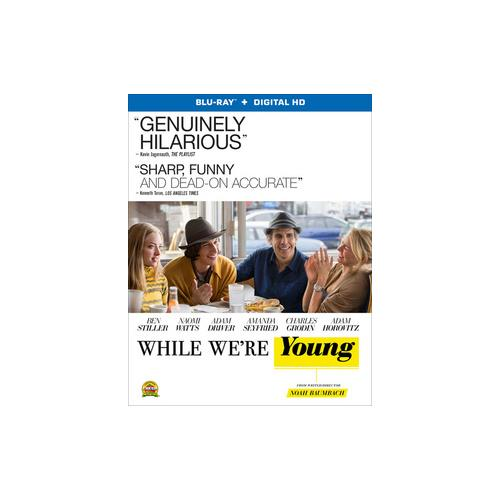 WHILE WE'RE YOUNG (BLU RAY W/ULTRAVIOLET) 31398220985