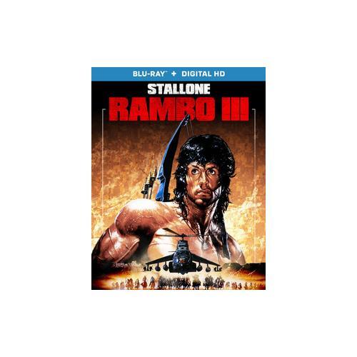 RAMBO 3 (BLU RAY W/DIGITAL HD) (WS/ENG/ENG SDH/5.1 DTS-HD) 31398223993