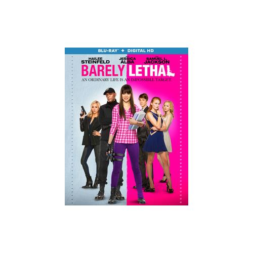 BARELY LETHAL (BLU RAY W/DIGITAL HD) (WS/ENG/ENG SUB/SPAN SUB/ENG SDH/5.1DT 31398224334