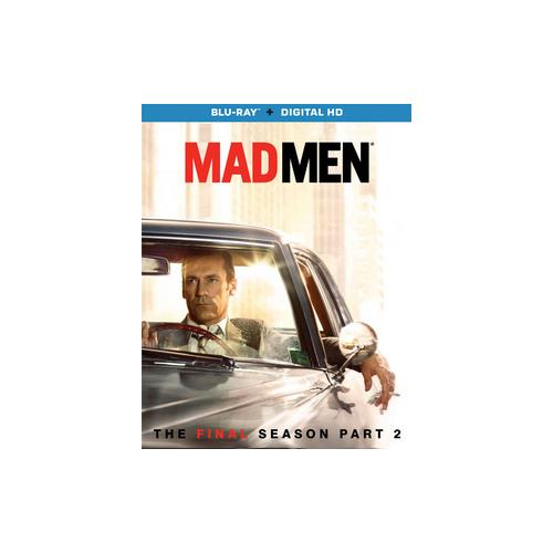 MAD MEN-FINAL SEASON PART 2 (BLU RAY W/DIG HD)(WS/ENG/ENG SUB/5.1DTS/2DISC) 31398228639