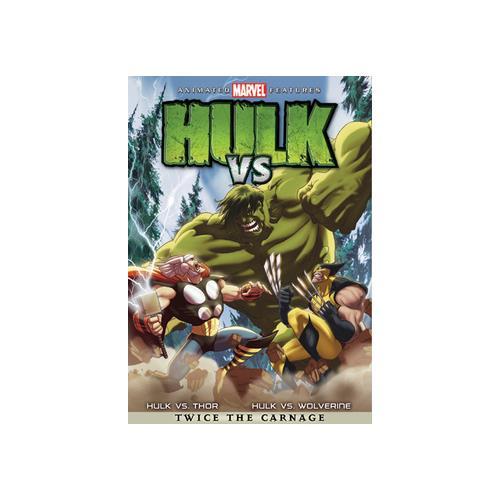 HULK VS (DVD) (WS/ENG/ENG SUB/SPAN/SPAN SUB/5.1) 31398104278