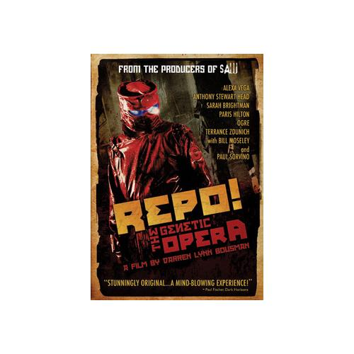 REPO THE GENETIC OPERA (DVD) (WS/ENG/ENG SUB/SPAN SUB/5.1) 31398104353