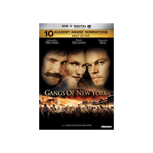 GANGS OF NEW YORK (DVD) (WS/ENG/ENG SUB/FREN/5.1 DOL DIG/2DISCS/UV DIG COPY 31398134565