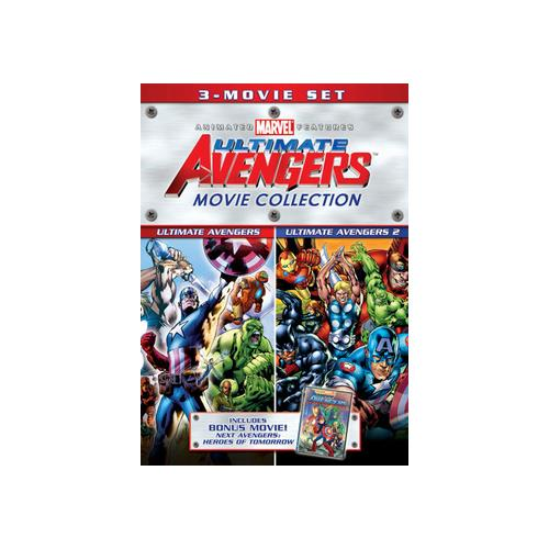 ULTIMATE AVENGERS COLLECTION (DVD) (WS/ENG/SPAN DUB/2.0 DD/5.1 DD/2DISCS) 31398150596