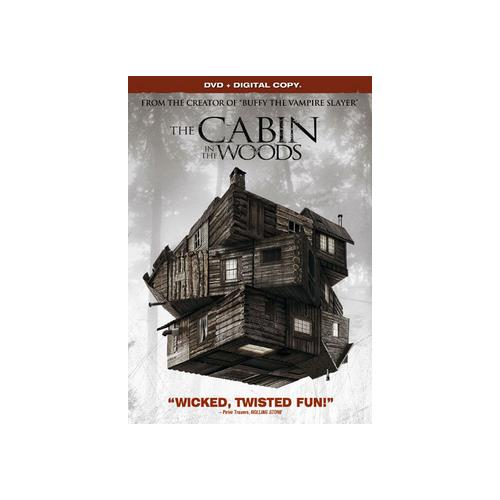 CABIN IN THE WOODS (DVD W/DIGITAL COPY/WS/ENG/ENG SUB/SPAN SUB/5.1DD) 31398156147