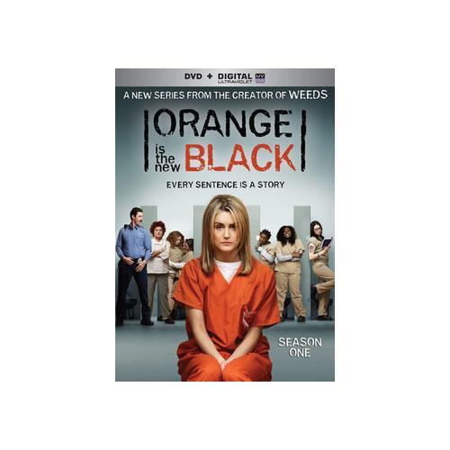 ORANGE IS THE NEW BLACK SEASON 1 (DVD W/DIGITAL HD ULTRAVIOLET) 31398193913