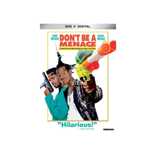 DONT BE A MENACE TO SOUTH CENTRAL WHILE DRINKING YOUR JUICE IN THE HOOD(DVD 31398208471