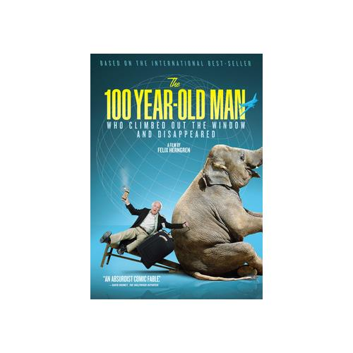100 YEAR OLD MAN WHO CLIMBED OUT THE WINDOW & DISAPPEARED (DVD) 741360538856