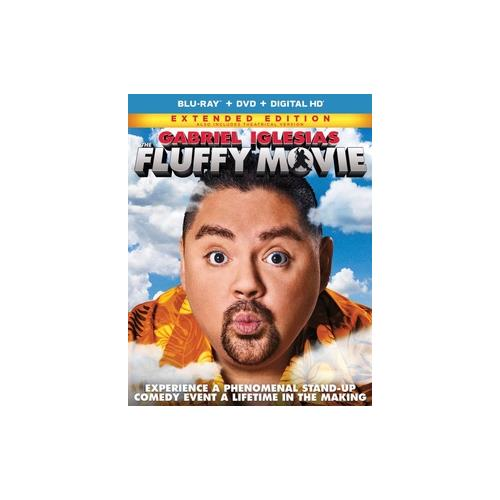 FLUFFY MOVIE (BLU RAY/DVD W/DIGITAL HD/UV) 25192251412