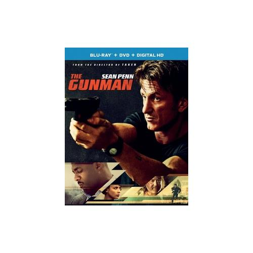 GUNMAN (BLU RAY/DVD W/DIGITAL HD) 25192268649