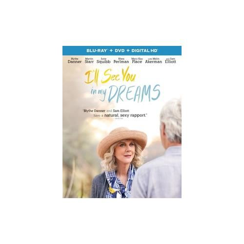 ILL SEE YOU IN MY DREAMS (BLU RAY/DVD W/DIGITAL HD) 25192302978