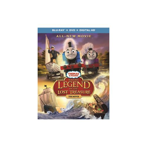 THOMAS & FRIENDS-SODORS LEGEND OF THE LOST TREASURE (BLU RAY/DVD W/DIG HD) 25192285509