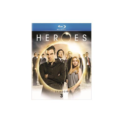 HEROES-SEASON 3 (BLU RAY) (ENG SDH/FREN/SPAN/DTS HD/5DISCS) 25195055734