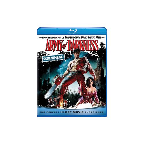 ARMY OF DARKNESS (BLU RAY) (SCREWHEAD EDITION) 25192019968