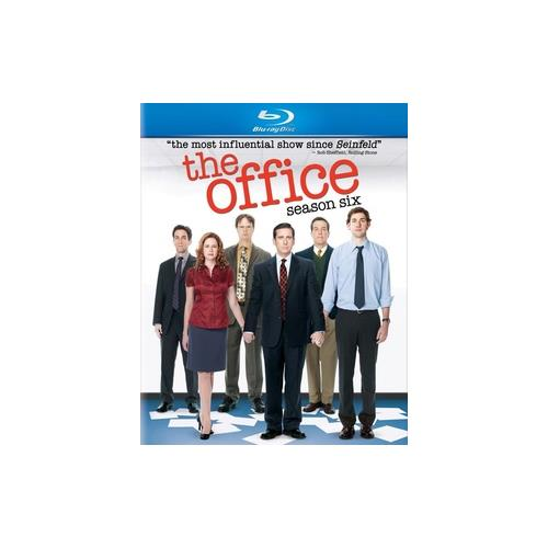 OFFICE-SEASON 6 (BLU RAY) (ENG SDH/SPAN/WS/4DISCS) 25192044397