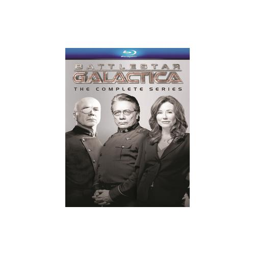 BATTLESTAR GALACTICA 2004-COMPLETE SERIES BOX SET (BLU RAY/21DISCS) 25192050237