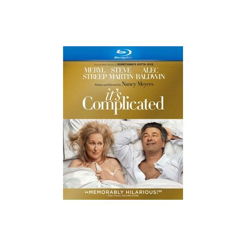 ITS COMPLICATED (BLU RAY) (WS/ENG SDH/SPAN/FREN/DTS-HD) 25192051302