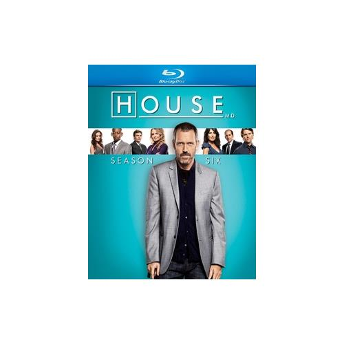 HOUSE-SEASON 6 (BLU RAY/5DISCS/WS) 25192054907