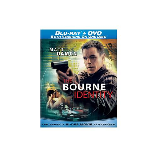BOURNE IDENTITY BLU RAY/DVD COMBO DISC 25192059056