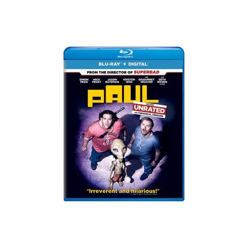 PAUL (BLU RAY W/DIGITAL COPY/ULTRAVIOLET) 25192069949