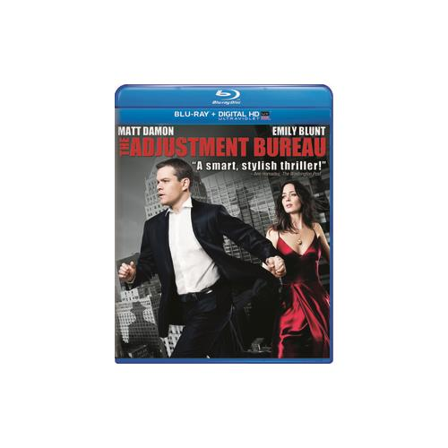 ADJUSTMENT BUREAU (BLU RAY/NEW PACKAGING) 25192071195