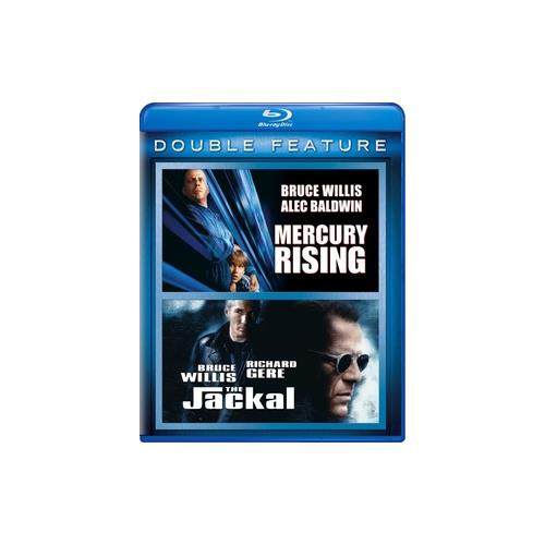 MERCURY RISING/JACKAL (BLU RAY/DOUBLE FEATURE) 25192094231