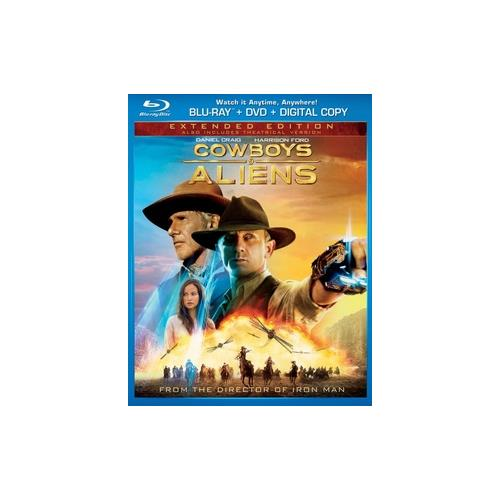 COWBOYS & ALIENS (BLU RAY/DVD 2 DISC COMBO) 25192107184