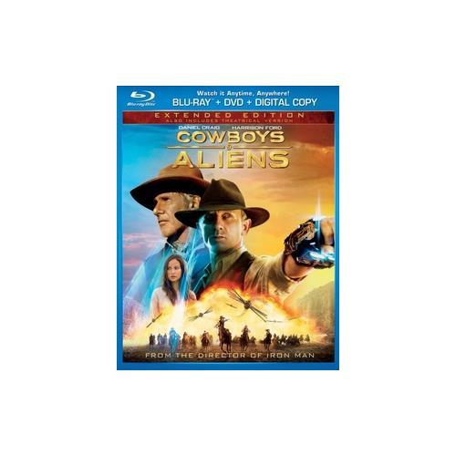 COWBOYS & ALIENS (BLU RAY/DVD 2 DISC COMBO) 25192107184