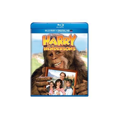 HARRY & THE HENDERSONS (BLU RAY W/DIGITAL HD W/ULTRAVIOLET) 25192112133