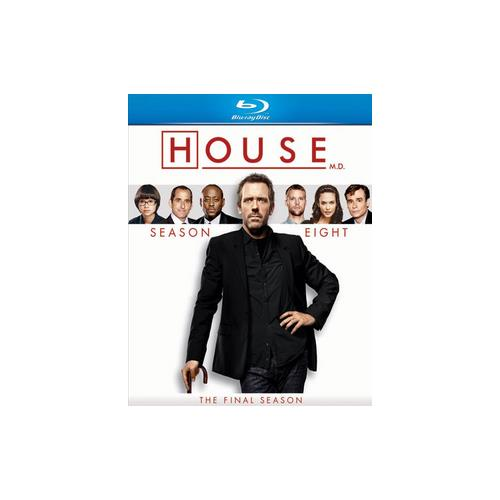 HOUSE-SEASON 8 (BLU RAY/5DISCS/ENG SDH/WS/1.78:1) 25192112737