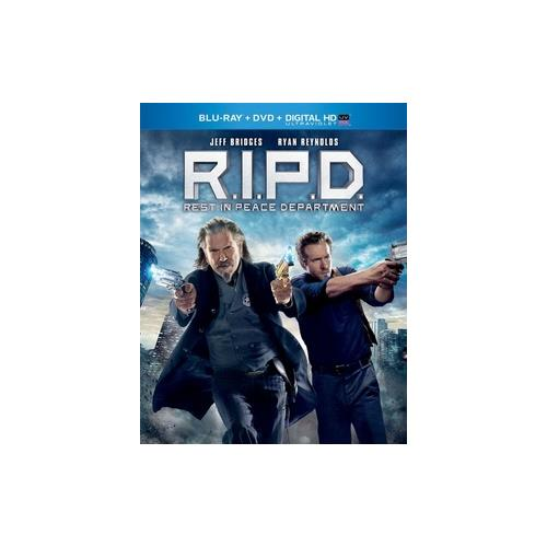 R.I.P.D. BLU RAY/DVD COMBO PACK/DIGITAL HD W/ULTRAVIOLET 25192123665