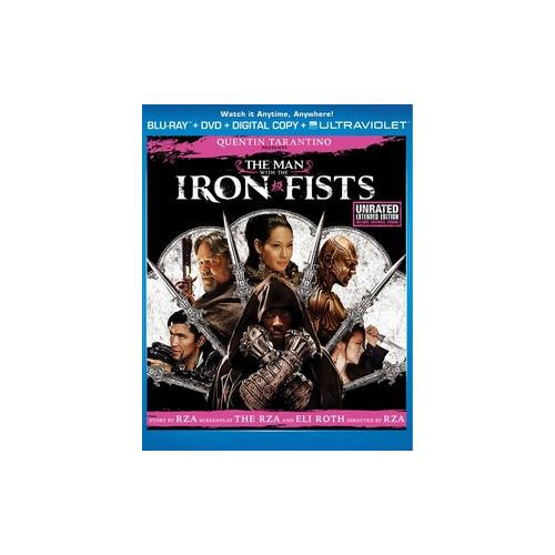 MAN WITH THE IRON FISTS BLU RAY/DVD COMBO PACK (2DISCS/WS/ENG SDH/SP/FR) 25192124624