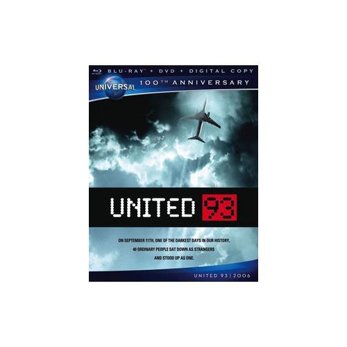 UNITED 93 BLU RAY/DVD W/DIGITAL COPY 25192142284