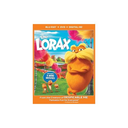 LORAX (BLU RAY/DVD/3D W/DIGITAL COPY (3-D) 25192151446