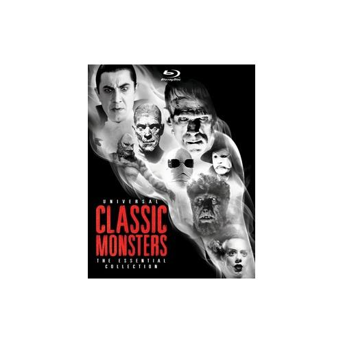 UNIVERSAL CLASSIC MONSTERS-ESSENTIAL COLLECTION (BLU RAY) (8DISCS) 25192152269
