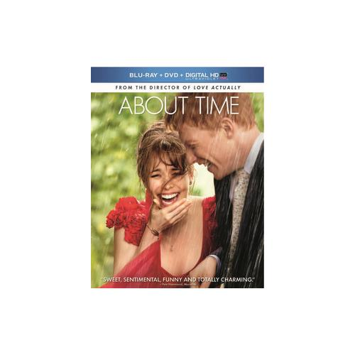 ABOUT TIME (BLU RAY/DVD COMBO/HD W/ULTRAVIOLET/2DISCS) 25192167119